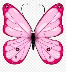 Pink Butterfly Clipart, HD Png Download ...