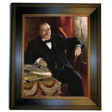 historic art gallery grover cleveland 1899 by anders zorn framed painting print on cleveland metal wall art with historic art gallery grover cleveland 1899 by anders zorn framed
