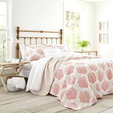 laura ashley c coast reversible cotton 3 piece quilt set laura ashley quilt sets laura