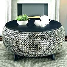 wicker coffee table ottoman round wicker coffee table round wicker coffee table with storage wicker coffee