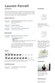 Certified Shoe Fit Specialist & Customer Service Associate Resume samples