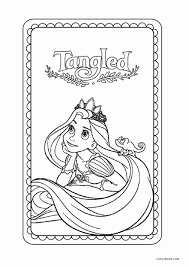 Tangled rapunzel dancing coloring page. Free Printable Tangled Coloring Pages For Kids