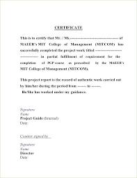 Work Completion Letter Format Sample Job Completion Certificate