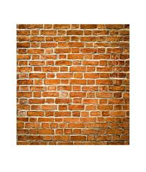 Small Picture Buy Paw Brown Brick Wall Texture Wallpaper Panel Online at Low