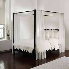 Scarf Sheet Bed Canopy Curtain in White | Bed Bath & Beyond