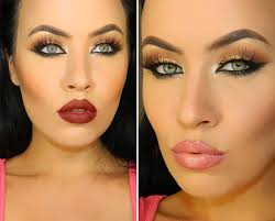 clic fall makeup tutorial in neutral colors makeup application tips and tricks for brown skin tones
