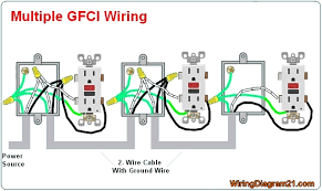 gfci outlet wiring diagram Wiring Diagram For Outlet mars 2017 house electrical wiring diagram wiring diagram for outlets in series