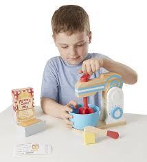 melissa doug wooden make a cake mixer set 602 p jpg