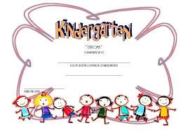 certificate of promotion template kindergarten diploma certificate template promotion pre graduation