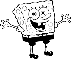 Awesome Sponge Sunger Bob Coloring Pages