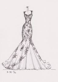 Dress Design Sketch At Paintingvalleycom Explore Collection Of
