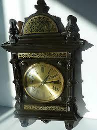 beautiful vintage weimar wall clock