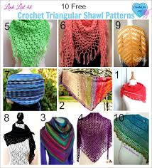 Free Patterns For Crochet Fascinating 48 Free Crochet Triangular Shawl Patterns Crochet For You