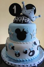 Disney Themed 1st Birthday Cake Cake By Pam And Ninas Crafty