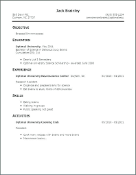 example of bad resumes funny resume examples dew drops