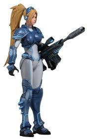 <b>Фигурка</b> NECA Heroes of the Storm <b>Starcraft</b> Dominion Ghost Nova ...