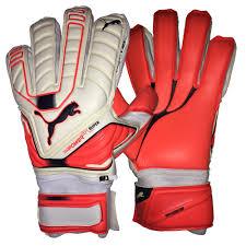 puma goalkeeper gloves. puma evopower protect super goalkeeper gloves (white/lava blast/total eclipse)