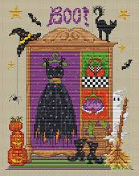 Sue Page Cross Stitch Designer Sue Hillis Designs Hazels Wardrobe Cross Stitch Pattern