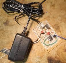 garage door opener electric eye photo of completed 555 circuit