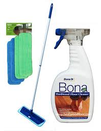 4 pads swivel microfiber mop kit bona hardwood floor cleaner 32oz best value ebay