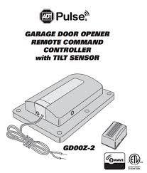linear garage door opener remote. ADT Pulse Garage Door Controller \u2013 Linear Remote GD00Z-2 Opener G