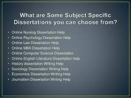 dissertation online Online Dissertation Help is an round the clock Dissertation Writing S SlideShare Online Nursing Dissertation