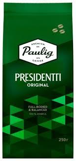 <b>Кофе</b> в зернах <b>Paulig Presidentti Original</b> — купить по выгодной ...