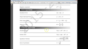 Algebra Formula Chart Staar Staar 4th Grade Conversion Chart Staar 4th Grade Conversion