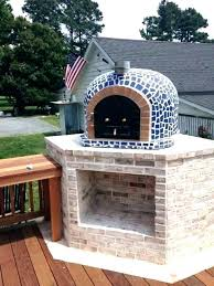 outdoor pizza oven build a step fireplace and plans wood fired kits backyard diy brick
