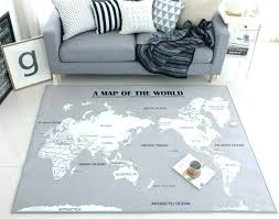 world map area rugs rug vintage