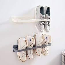 wall mounted shoe rack