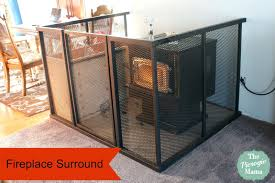 fireplace gates for es canada gate home depot