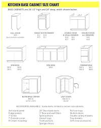 Standard Kitchen Base Cabinet Sizes Chart Standard Kitchen Cabinet Dimension Freetimeradio Club