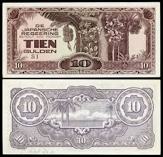 ese invasion money  dutch or east indies edit
