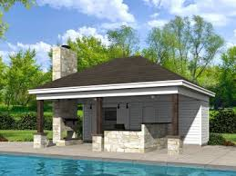 pool house. Perfect Pool Plan 062P0006 To Pool House S