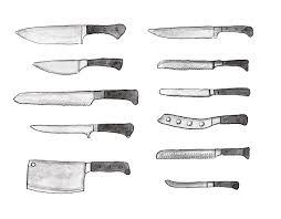 Different Types Of Knives An Illustrated GuideTypes Of Kitchen Knives