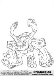 Small Picture 15 best skylander art images on Pinterest Coloring pages