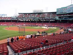Boston Red Sox Seating Chart View Fenway Park Loge Box 159 Seat Views Seatgeek