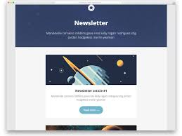 Newsletter Free Templates 24 Ready To Use Free Responsive Email Templates 2019 Uicookies