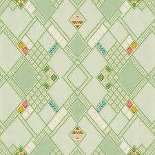 Vintage Wallpaper Patterns Impressive Retro Green Diamond Tile Vintage Wallpaper Pattern Digital Art By