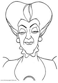 Small Picture Disney Villains Coloring Pages Disney Villains Compilation by