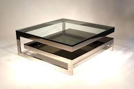 chrome coffee table image of square chrome coffee table brushed chrome coffee table legs