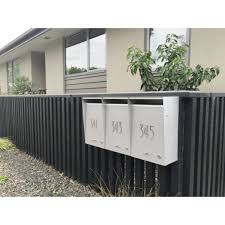 wall mounted letterbox mailbox