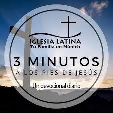 3 minutos a los pies de Jesús