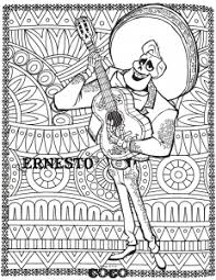 Straight from the hit disney movie, coco comes to the coloring sheets. Coco Free Printable Coloring Pages For Kids