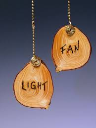 Fan Pull Chain Ornaments