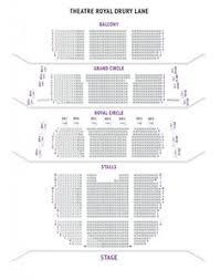 Theatre Royal Drury Lane Seating Chart Pinterest