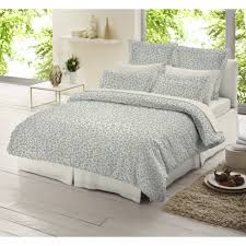 dormisette leopard grey 100 brushed cotton duvet cover