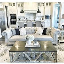 interior design home decor on insram nothing like a tufted couch by living room decor grey