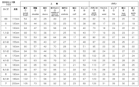 Karate Uniform Size Chart K9